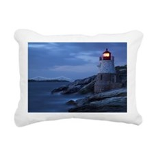 Castle Hill Lighthouse Rectangular Canvas Pillow