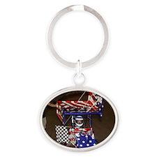 Brandie CP Oval Keychain