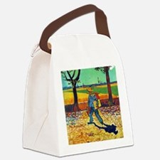 Van Gogh Painter On The Road Canvas Lunch Bag