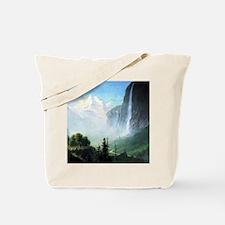 Albert Bierstadt Staubbach Falls Tote Bag