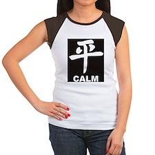 Calm Women's Cap Sleeve T-Shirt