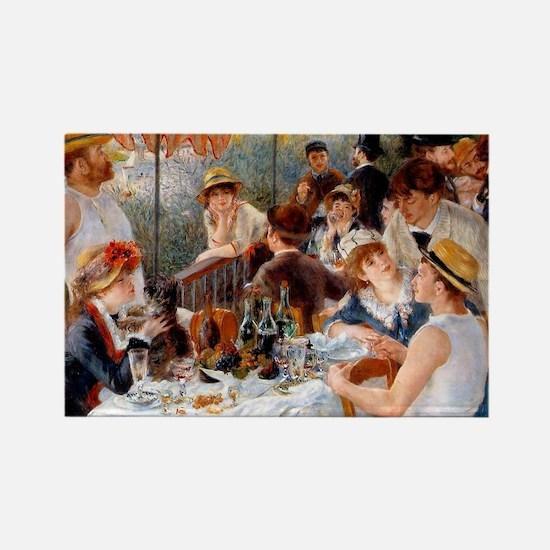 Pierre-Auguste Renoir Rectangle Magnet