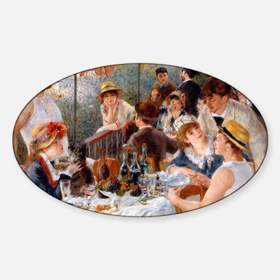 Pierre-Auguste Renoir Sticker (Oval)