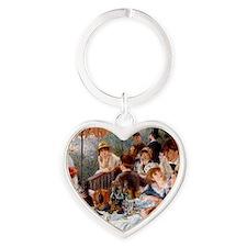 Pierre-Auguste Renoir Heart Keychain