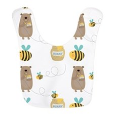 Bears and Bees Bib