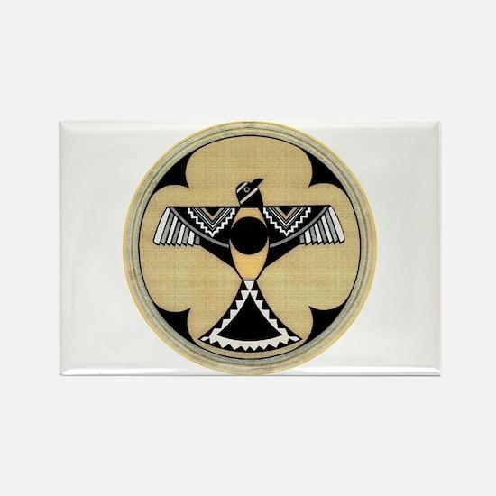 MIMBRES EAGLES PRIDE BOWL Rectangle Magnet