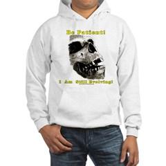 Be Patient. I Am Still Evolving! Hoodie