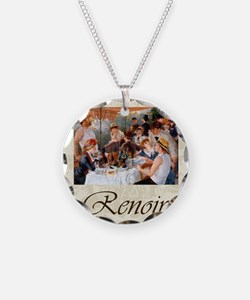 Renoir Luncheon Of The Boati Necklace