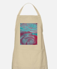 Unique Rose Design Apron