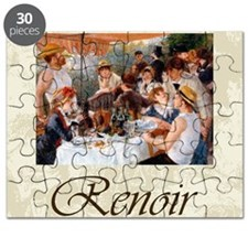 Renoir Luncheon Of The Boating Party Puzzle