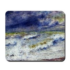 Renoir Seascape Mousepad
