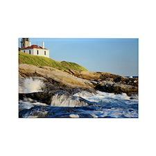Beavertail Lighthouse, Newport, R Rectangle Magnet