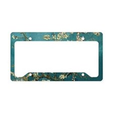 Van Gogh Almond Branches In B License Plate Holder