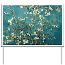 Van Gogh Almond Branches In Bloom Yard Sign