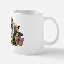 Flower Skull II Mug