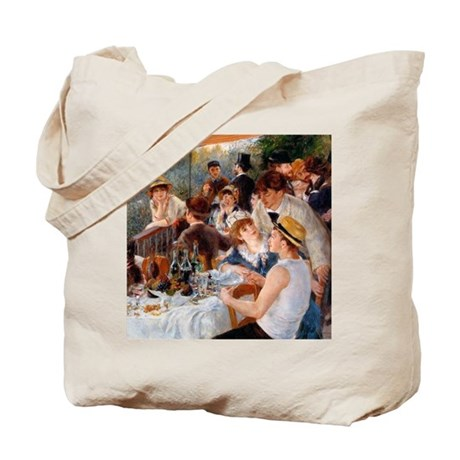 Renoir Luncheon Of The Boating Party Tote Bag
