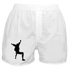 Sitfly 1 (Black) Boxer Shorts