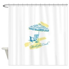 Serenity Huntington Beach Shower Curtain