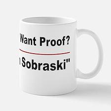 Google Alan Sobraski Mug