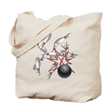 bowl strike 4 Tote Bag