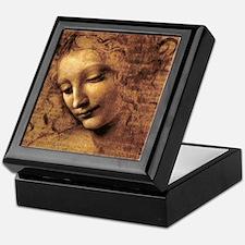 Leonardo Da Vinci La Scapigliata Keepsake Box