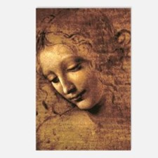 Leonardo Da Vinci La Scap Postcards (Package of 8)