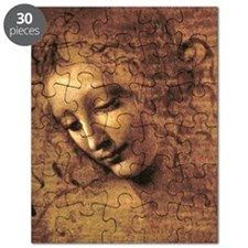 Leonardo Da Vinci La Scapigliata Puzzle