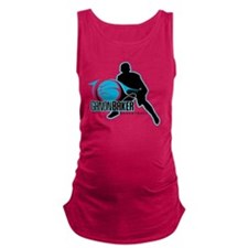 Ganon Baker Basketball 10th Ann Maternity Tank Top