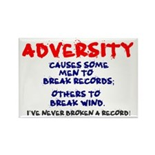 ADVERSITY Rectangle Magnet