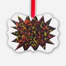 Fire Abstract Painting Ornament