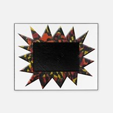 Fire Abstract Painting Picture Frame