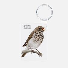 Hermit Thrush Keychains