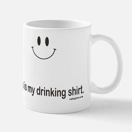 drinking shirt Mug