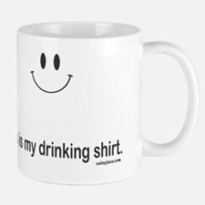 drinking shirt Small Small Mug