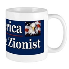 Save America Defeat the Zionist Mug
