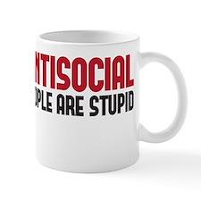 im not antisocial Mug