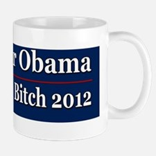 Romney or Obama for Bankers Bitch 2012 Mug