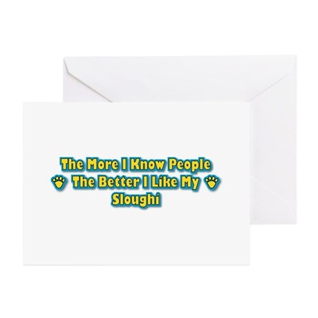 Like Sloughi Greeting Cards (Pk of 10)