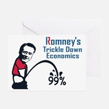 Romney Economics Greeting Card