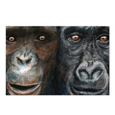 Gorilla and Chimp Postcards (Package of 8)