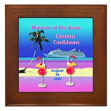 Mariner of the Seas - Framed Tile