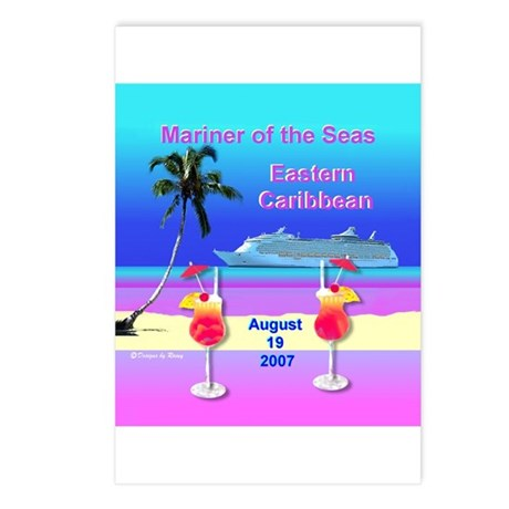 Mariner of the Seas - Postcards (Package of 8)