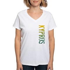 Kypros Women's V-Neck T-Shirt