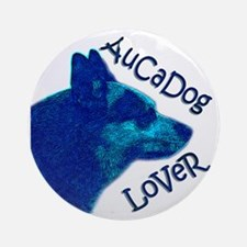AuCaDog Lover Round Ornament