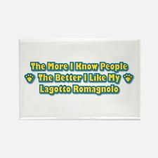 Like Lagotto Rectangle Magnet