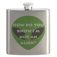 How do you know I'm not an alien? Flask