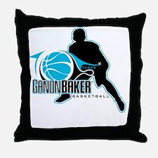 Ganon Baker Basketball - 10 Years Throw Pillow