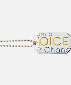VOICE for Change Dog Tags
