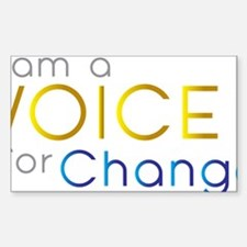 VOICE for Change Decal