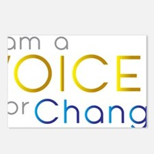 VOICE for Change Postcards (Package of 8)